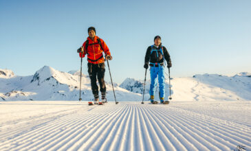 What to do in the mountains without ski lifts ?