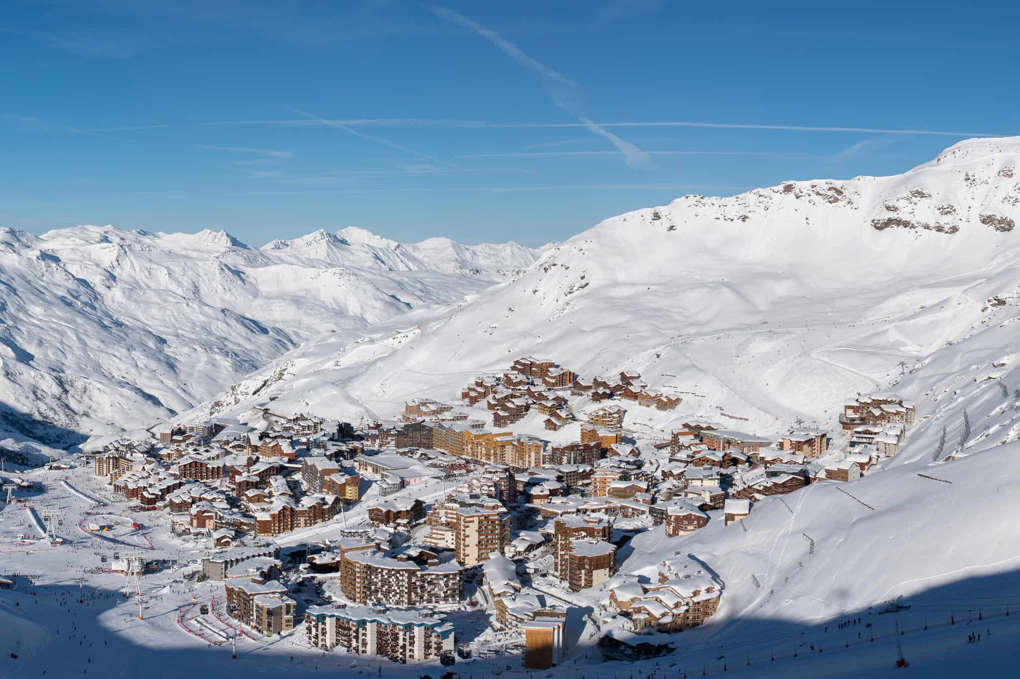 Station domaine skiable Val Thorens